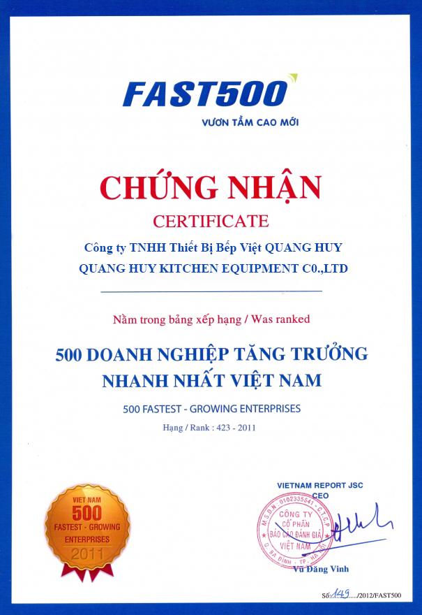 Quang Huy luôn là địa chỉ mua hàng tin cậy
