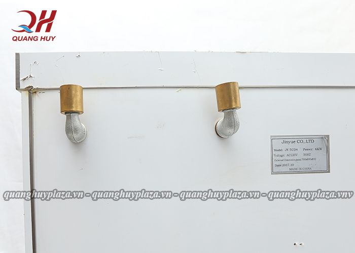 Ống thoát khí của tủ cơm công nghiệp