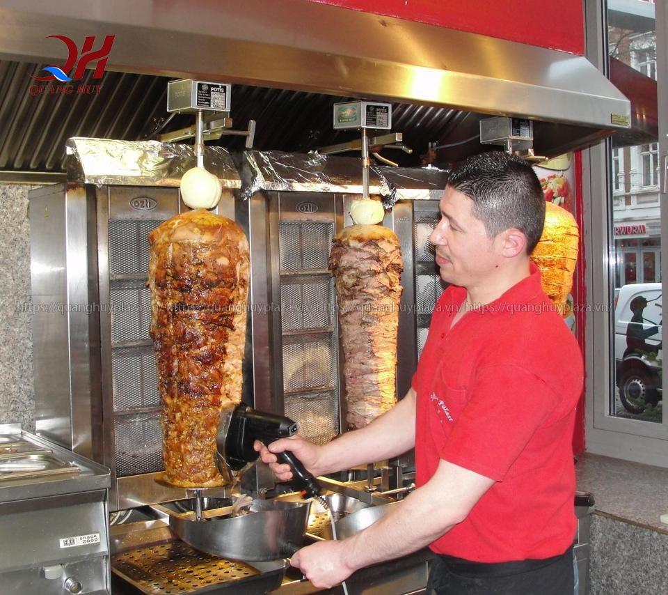 Mua lò nướng thịt doner kebab 2 buồng đốt giá tốt nhất 3