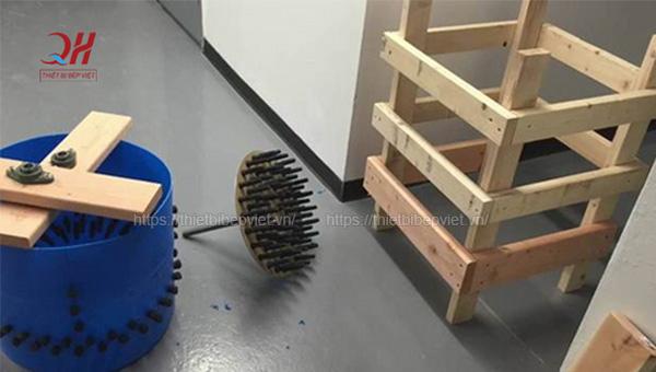 Chế tạo máy vặt lông gà đơn giản