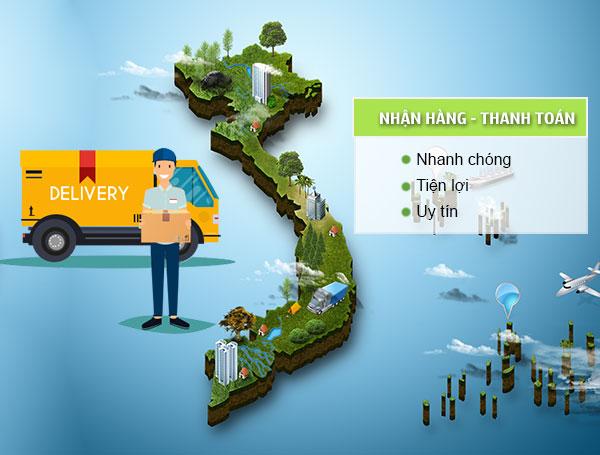 Giao hàng nhanh chóng tại Quang Huy