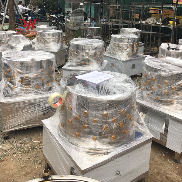 Quang Huy phân phối máy vặt lông gà vịt trên toàn quốc