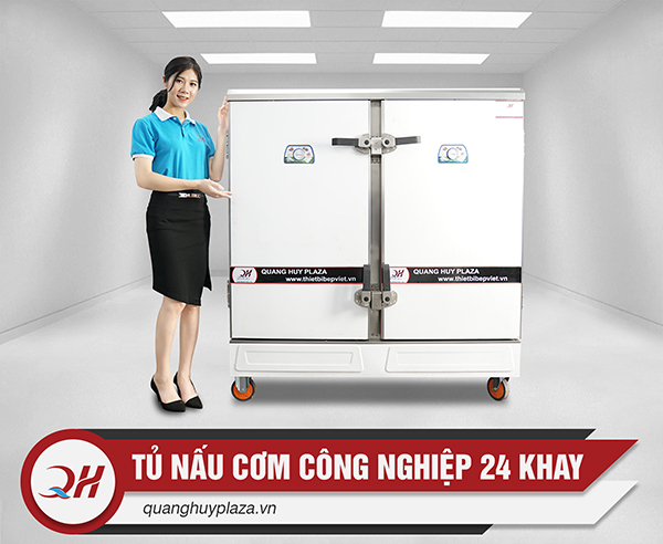 Báo giá tủ cơm công nghiệp 24 khay rẻ nhất thị trường