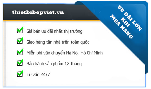 Ưu đãi lớn khi mua hàng tại Quang Huy