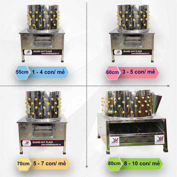 4 mẫu máy vặt lông gà vịt phổ biến nhất