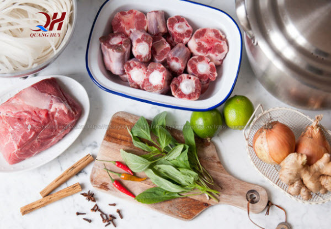 Chuẩn bị nguyên liệu nướng thịt