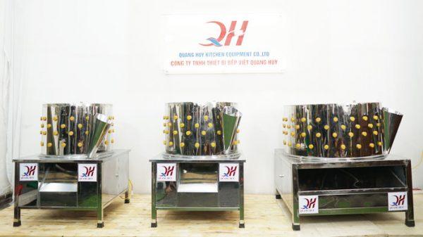 Mẫu máy nhổ lông gà vịt Quang Huy gia công và phân phối tại xưởng
