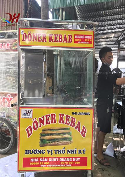 Xe bánh mì Doner Kebab của Quang Huy