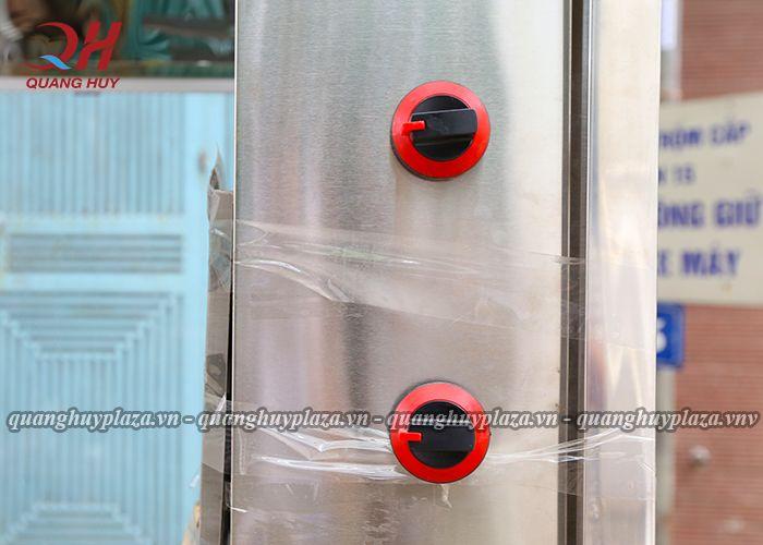 Các nút điều chỉnh nhiệt độ trải dài từ 30 -100 độ C