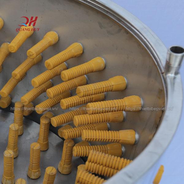 Mút cao su máy vặt lông gà vịt Quang Huy