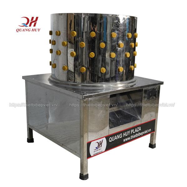 Thiết kế máy vặt lông gà vịt Quang Huy