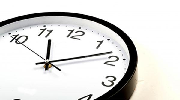 Căn thời gian để không bị muộn giờ ăn trưa bạn nhé!
