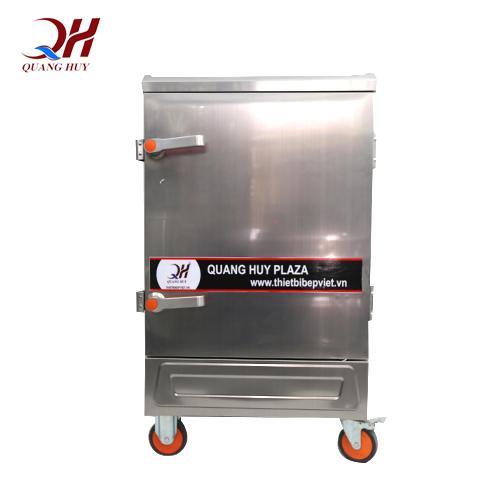 Tủ cơm công nghiệp 8 khay gas