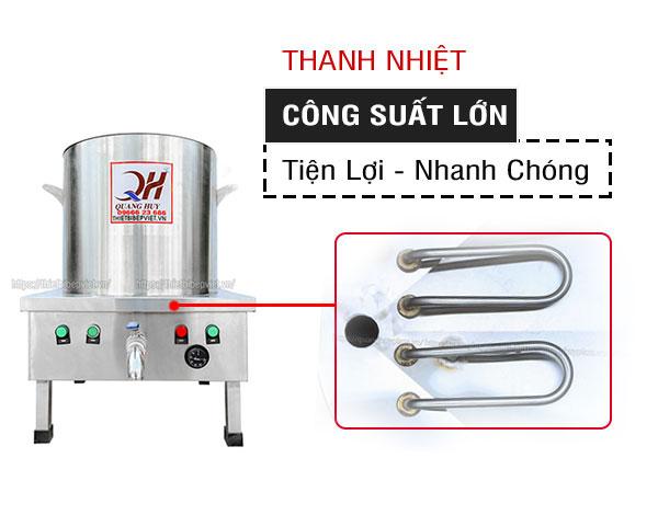 Hai thanh nhiệt nồi nấu phở điện Quang Huy