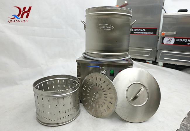 Tham khảo thêm tủ cơm công nghiệp bằng gas 8 khay