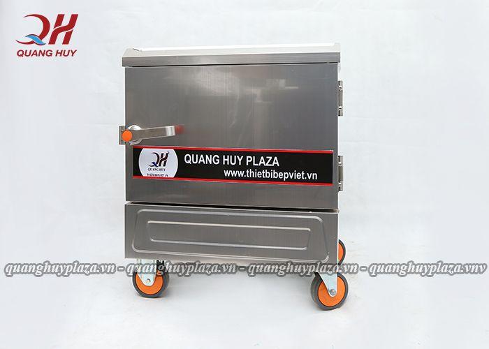 tủ cơm công nghiệp bằng điện 6 khay