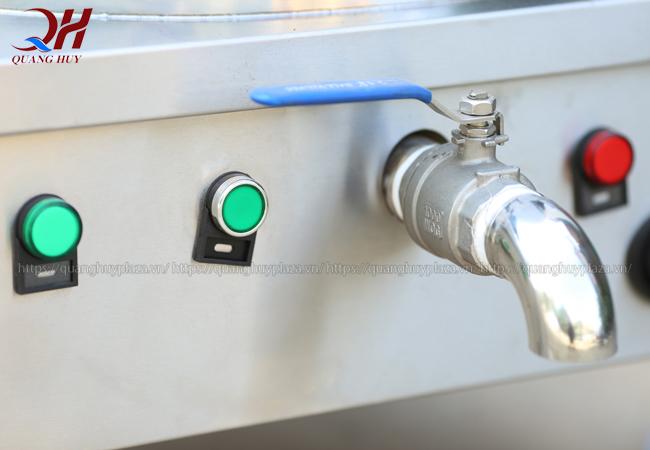 Hệ thống nút điều chỉnh nhiệt tiện lợi