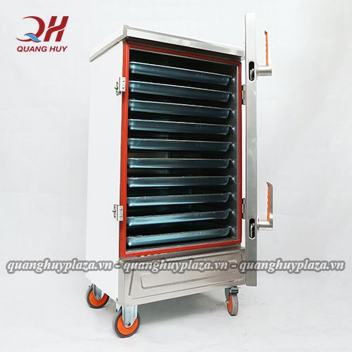 Tủ cơm công nghiệp 12 khay điện