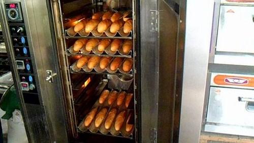 Giá Lò Nướng Bánh Mì Công Nghiệp -2