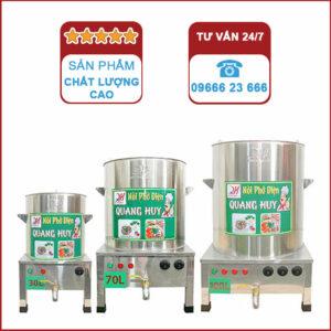 Bộ 3 nồi phở 30 70 100 Quang Huy