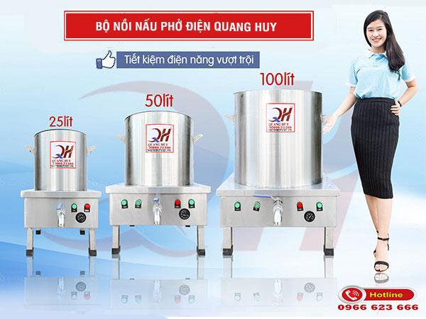 Bộ nồi nấu phở điện Quang Huy
