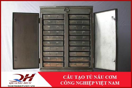 Cấu Tạo Tủ Nấu Cơm Công Nghiệp Việt Nam -1