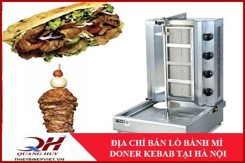 Cung Cấp Lò Bánh Mì Doner Kebab Tại Hà Nội -1