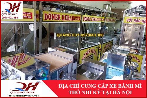 Địa Chỉ Cung Cấp Xe Bánh Mì Thổ Nhĩ Kỳ Tại Hà Nội -1