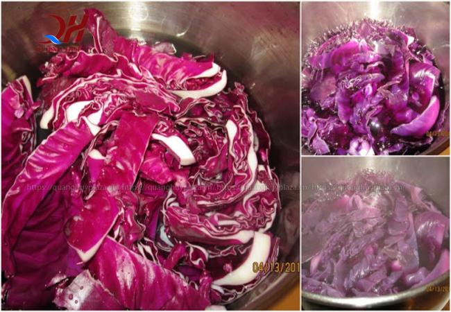 Bạn có thể hoàn thành gia vị cho rau đậm đà hơn rồi