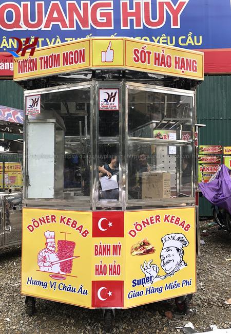 Xe bánh mì thanh lý giảm giá Quang Huy mới đến 99%