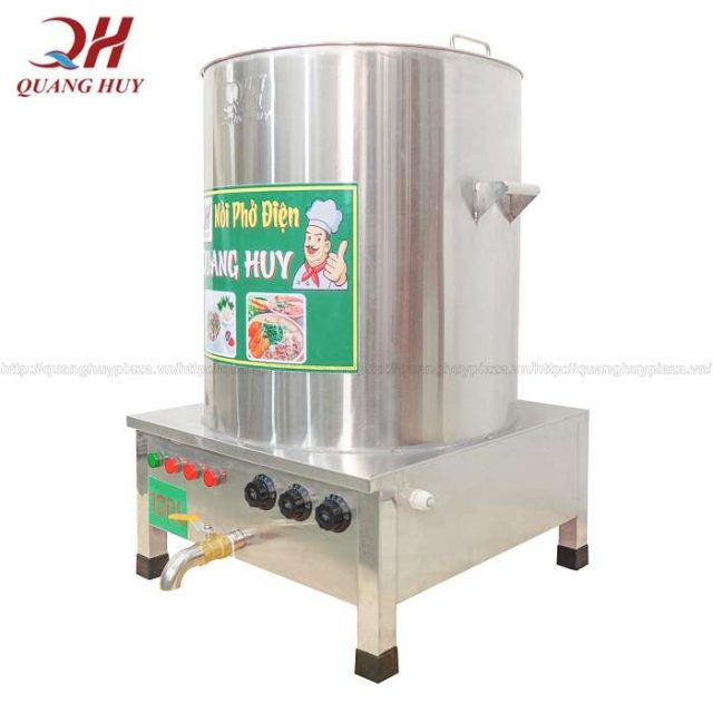 Sử dụng nồi phở điện 100 lít đúng cách để sản phẩm bền lâu