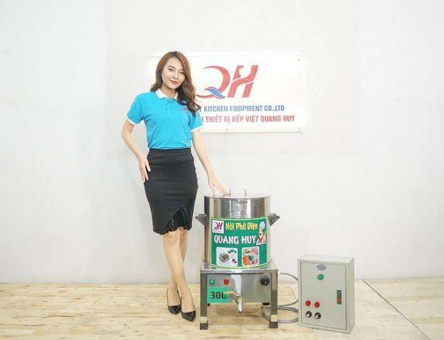 Quang Huy địa chỉ bán nồi nấu phở điện 30l uy tín