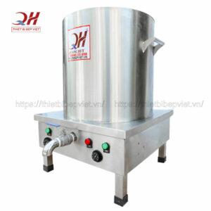 Nồi phở điện 60 lít Quang Huy Inox 304 bền đẹp, không gỉ