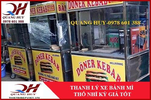 Thanh Lý Xe Bánh Mì Thổ Nhĩ Kỳ Giá Tốt -1