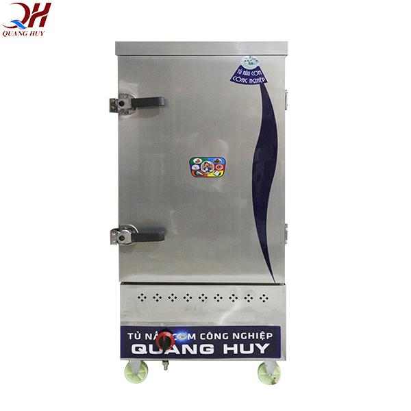 Tủ cơm công nghiệp 10 khay bằng gas