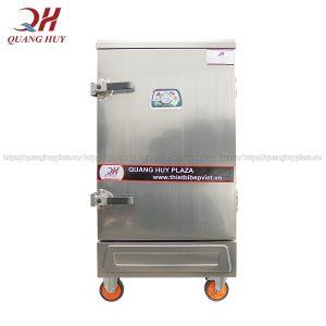 Tủ nấu cơm công nghiệp bằng gas 8 khay chính hãng