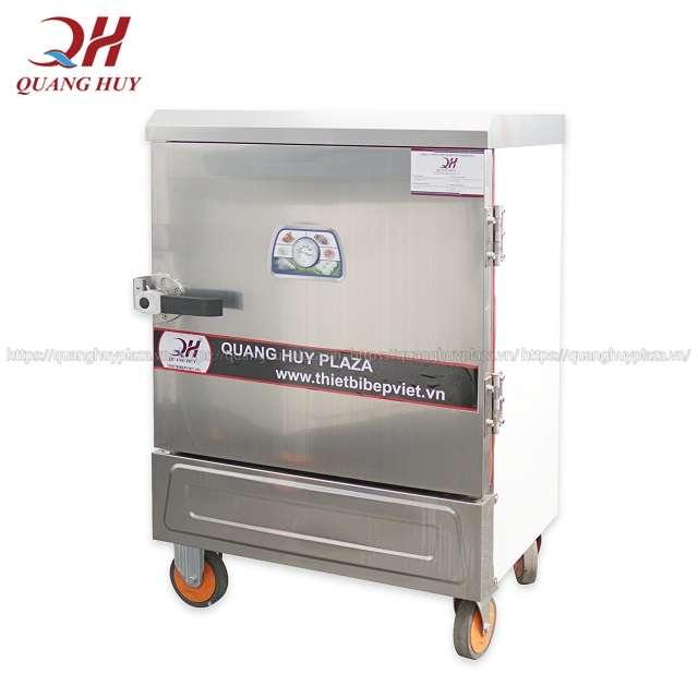 Tủ nấu cơm công nghiệp 6 khay dùng điện