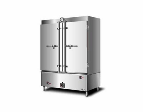 tủ nấu cơm công nghiệp bằng gas 2