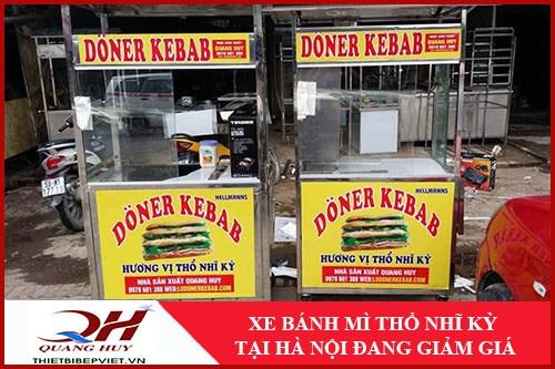 Xe Bánh Mì Thổ Nhĩ Kỳ Tại Hà Nội Giảm Giá -1