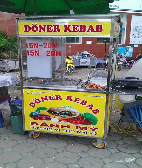 Xe Bánh Mì Thổ Nhĩ Kỳ Tại Hà Nội Giảm Giá -3