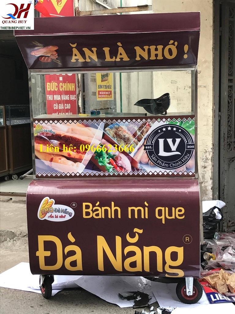 Xe bán bánh mì que Đà nẵng