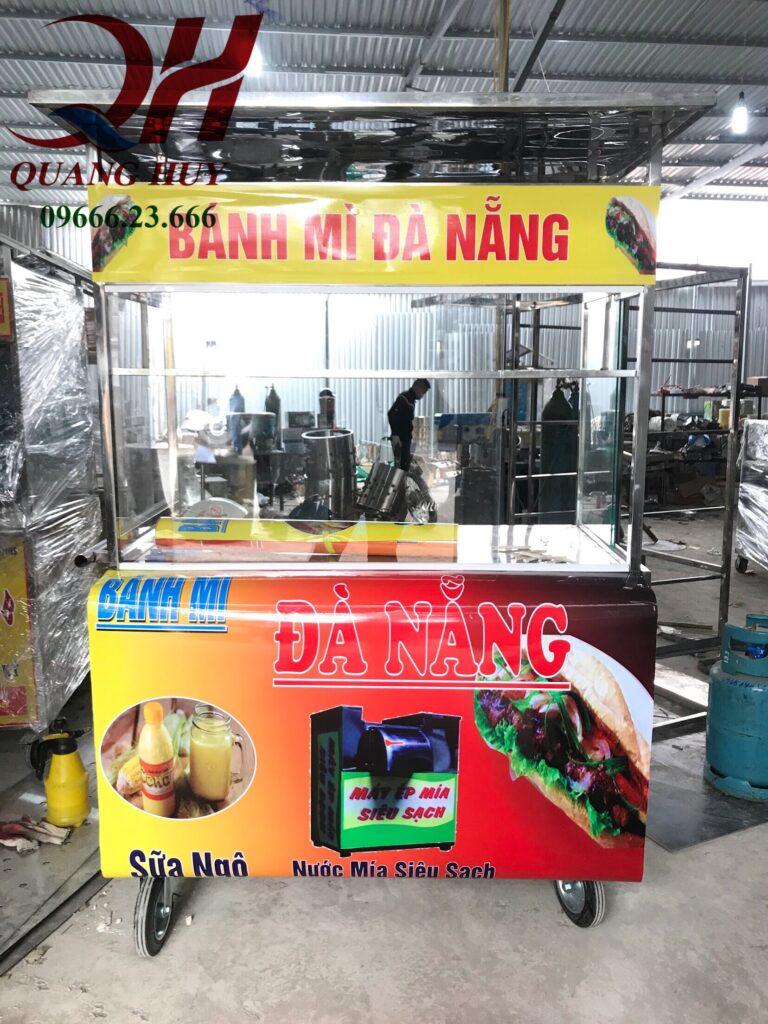 Quang Huy hiện đang cung cấp xe bánh mì que chính hãng