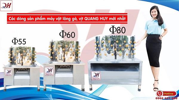 Một số mẫu máy vặt lông gà vịt Đông Triều Quang Huy