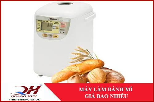 Máy Làm Bánh Mì Giá Bao Nhiêu -1