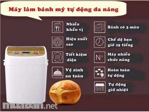 Máy Làm Bánh Mì Giá Bao Nhiêu -2