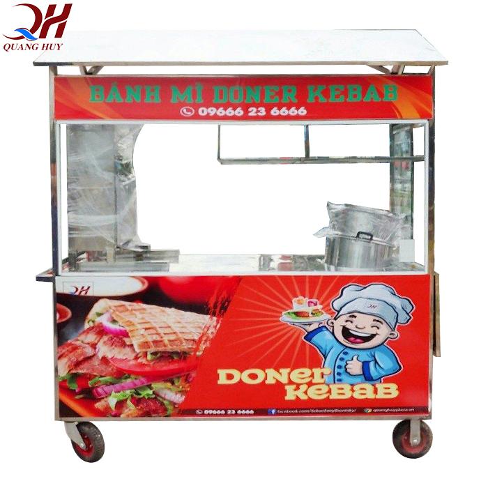 Xe bán xôi bán bánh mì 1m8 tại Quang Huy