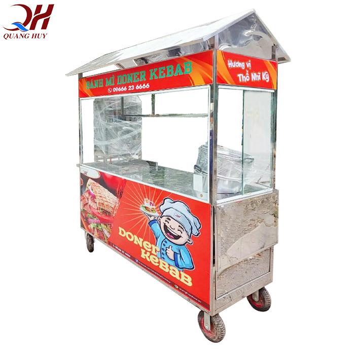 Xe bán xôi bánh mì được sản xuất bởi Quang Huy