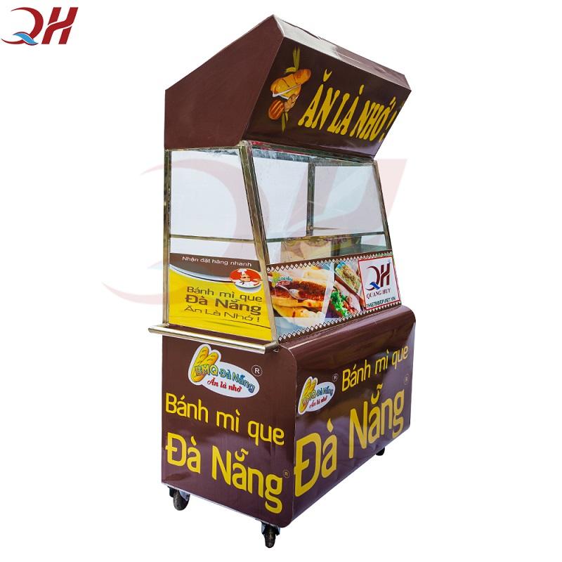Xe Bánh Mì Que Đà Nẵng 1M2 Chính Hãng