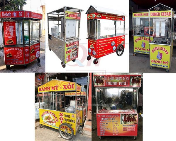 Địa chỉ mua xe bánh mì tại Sài Gòn ở đâu ?
