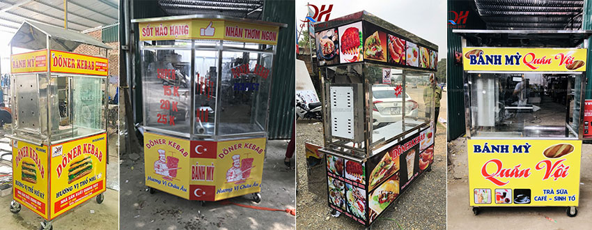 Mẫu xe bánh mì tại Quang Huy